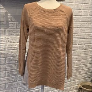 EUC Loft 2 tone tunic Sweater